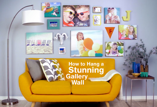 How to Create a Gallery Wall  Empty walls are like... - Walgreens on Tumblr - Smile