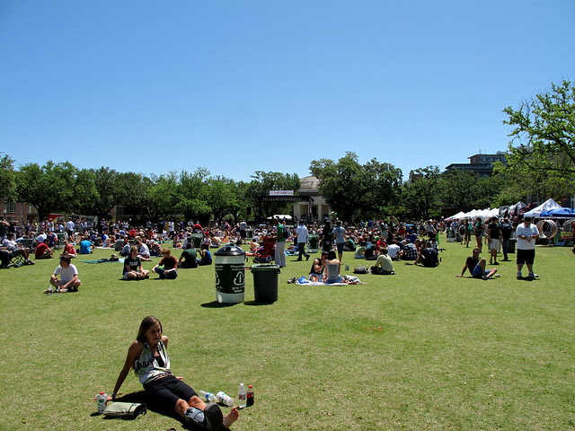 Crawfest on the Tulane Campus
