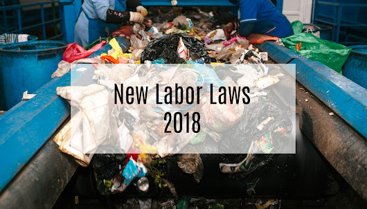 New California Labor Laws Affecting The Recycling Industry In 2018 - Berg Mill Supply Co., Inc