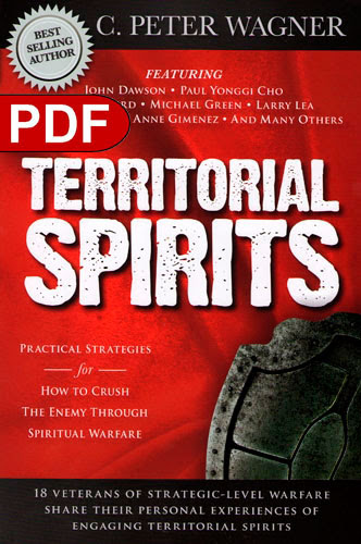 Image result for peter wagner territorial spirits