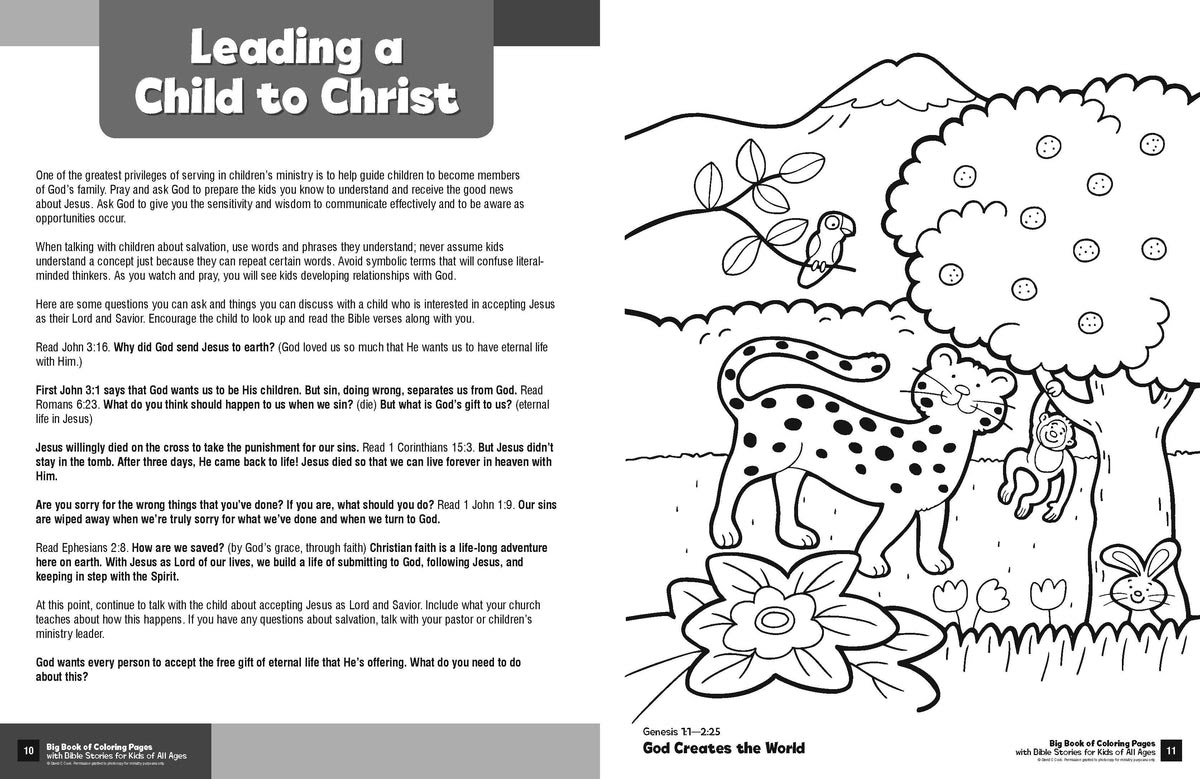 Big Book of Coloring Pages with Bible Stories for Kids of ...