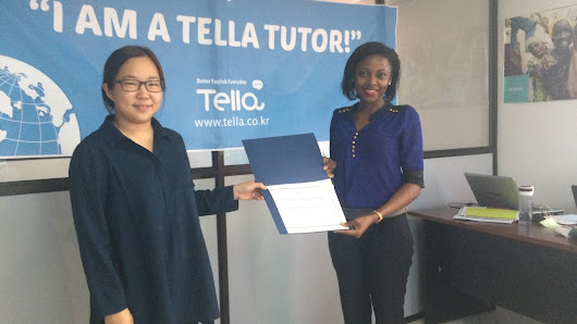 From Uganda to Korea—teaching English, one chat at a time