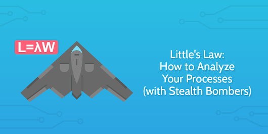 Little's Law: How to Analyze Your Processes (with Stealth Bombers) | Process Street