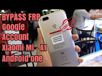 How To Bypass Frp Xiaomi Mi A1 Android One Unlock Remove Google account 7.1 Nougat Work 100%