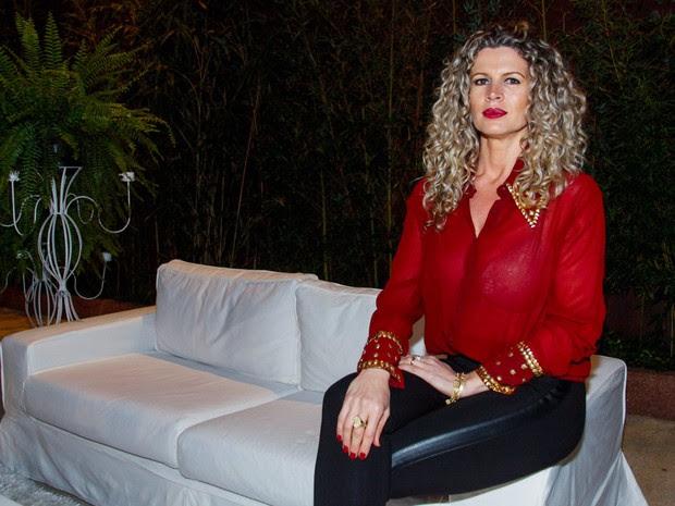 Cida Marques em evento em São Paulo (Foto: Marcos Ribas/ Foto Rio News)