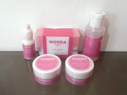 How To Whiten Your Face Safely and Fast with MODDA SKIN INTENSIVE WHITENING FACIAL SET