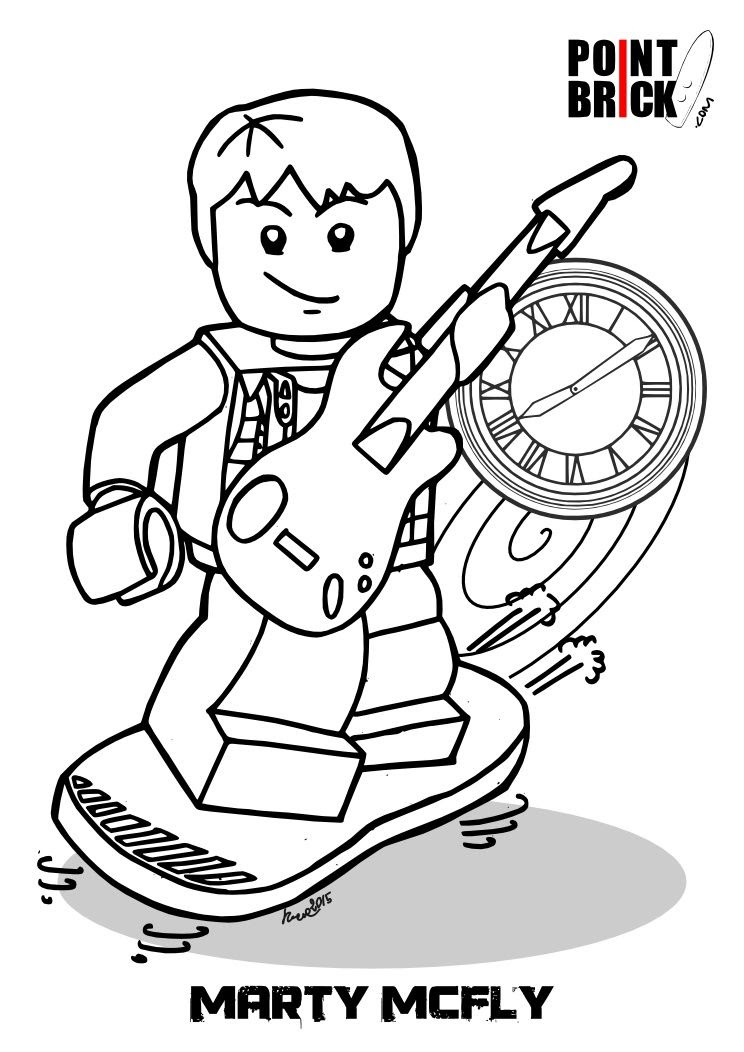 Ghostbusters Lego Dimension Coloring Pages Print Coloring