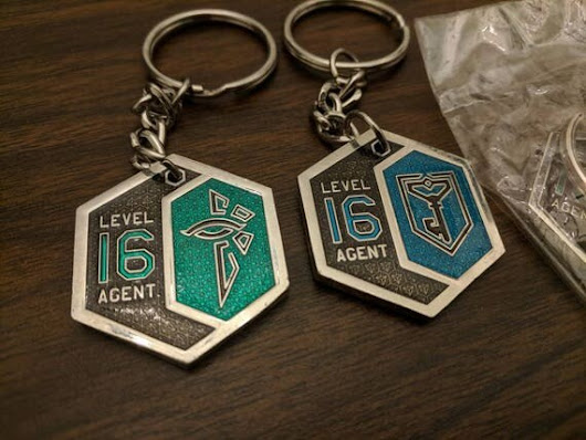 Level 16 Keychain