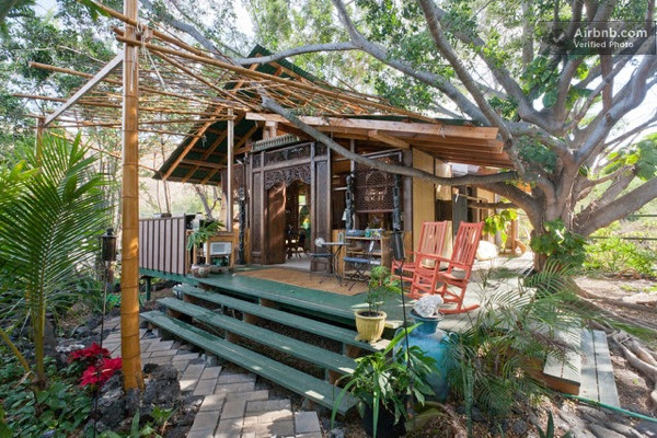 Bali Style Tiny Cottage in Hawaii - Tiny House Pins
