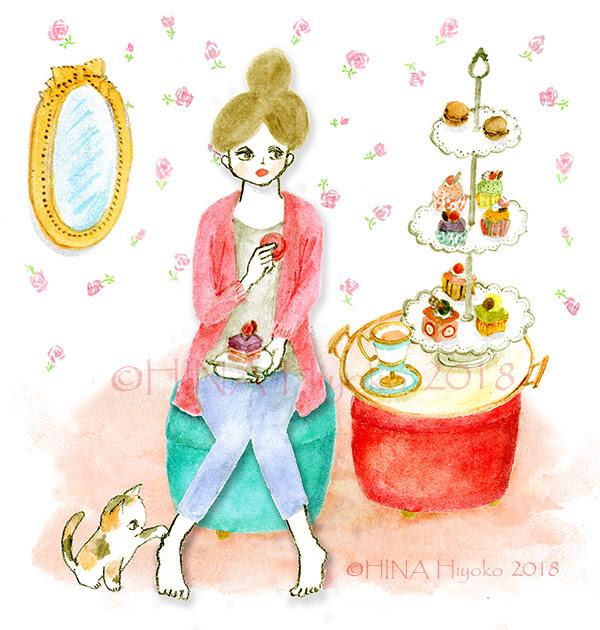 Gallery Hina Hiyokos Illustration 女性誌子供向けガーリー