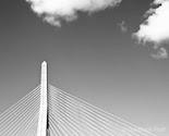Zakim Bridge, Boston - 8x10 Fine Art Photograph