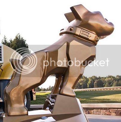 Mack Truck Bulldog statue Allentown, PA