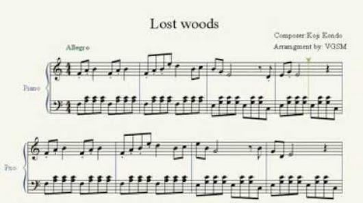 Piano piano tabs zelda lost woods : VideoGameSheetMusic - Google+