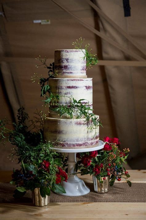 388 best images about Naked Rustic wedding cakes on