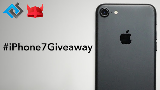 iPhone 7 giveaway with Phonebuff and opera