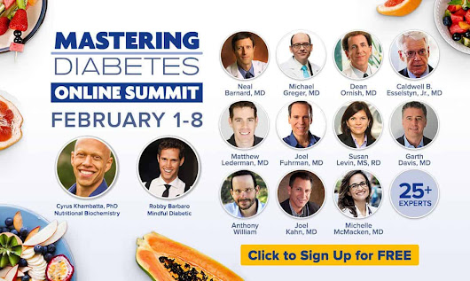 Mastering Diabetes Online Summit (Join for FREE!)