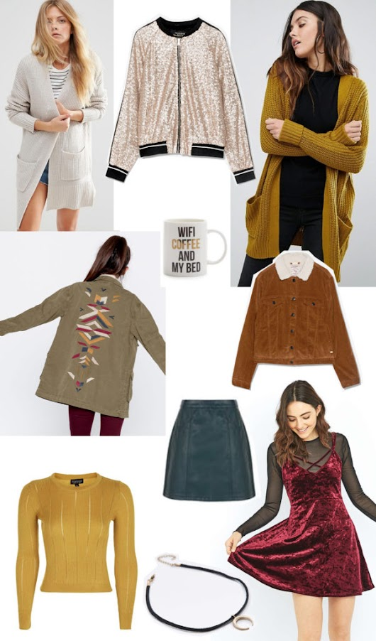 Autumnal wardrobe wishlist - Yellow Feather