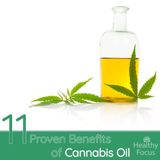 11 Science Backed Benefits of Cannabis Oil - Healthy Focus