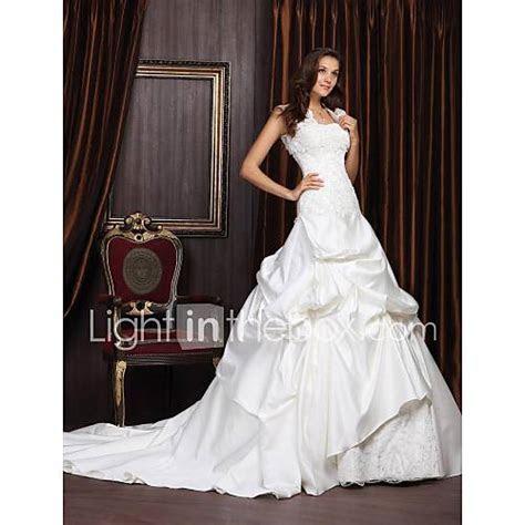 Lan Ting Ball Gown Plus Sizes Wedding Dress   Ivory Chapel