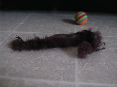 Mouse toy tail