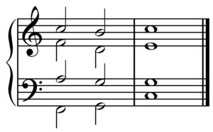 Created in Sibelius.