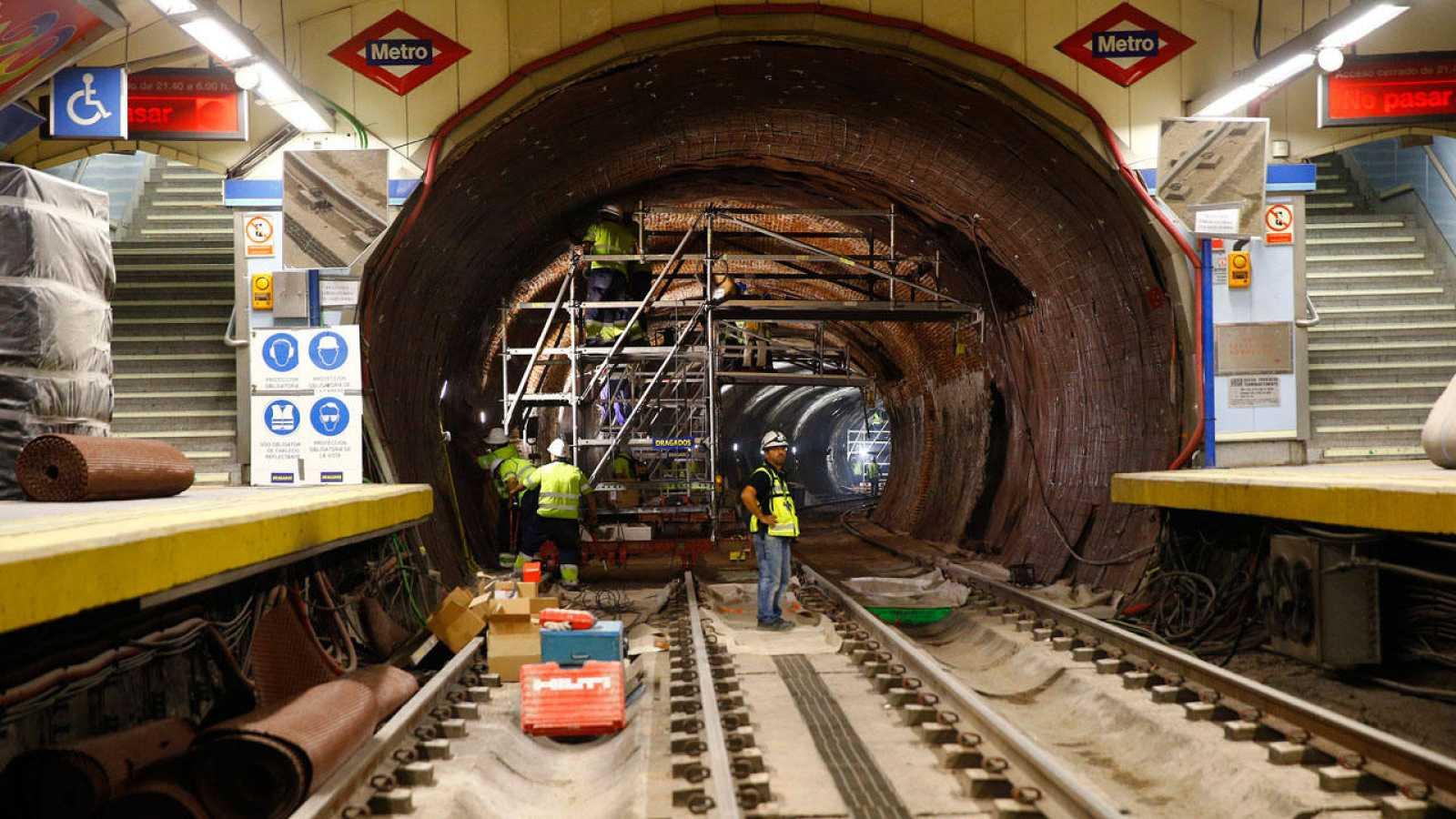 Resultado de imagen para metro obras