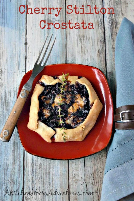 Cherry Stilton Crostata
