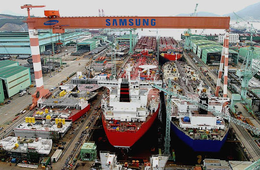 Shell orders three FLNG units from Samsung in $4.7bn deal -