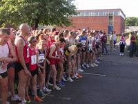 The start line