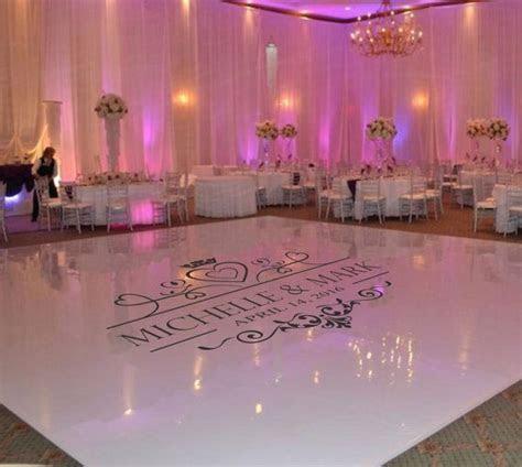Wedding Dance Floor Decal, Wedding Floor Monogram, Vinyl