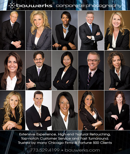 Chicago: 5 Reasons Why You Need a Professional Headshot or Business Portrait - Chicago Photography Blog | By Bauwerks Photography Studio Chicago