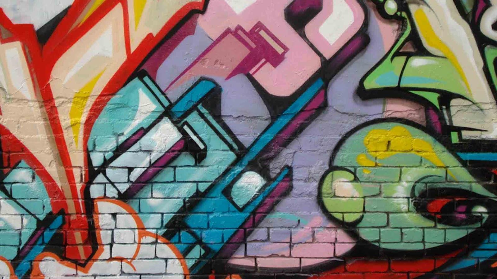 Gambar Tulisan Grafiti Doraemon