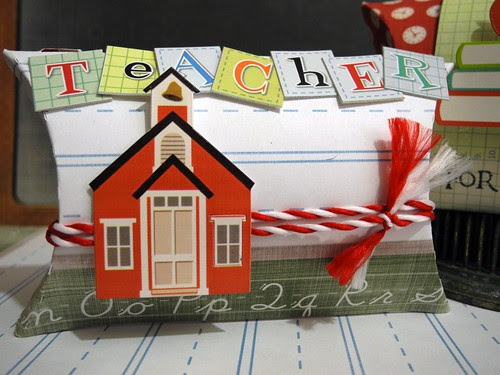 Teacher Pillow Box