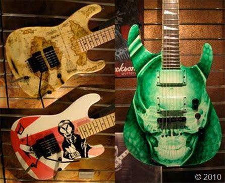 World's Weirdest Guitar Designs   Odd/Strange/Weirdest Things