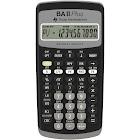 Texas Instruments TI BA-II Plus Financial Calculator - 10 Digits - Black