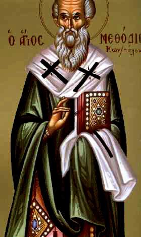 Αποτέλεσμα εικόνας για Άγιος Μεθόδιος ο ομολογητής Πατριάρχης Κωνσταντινούπολης 14 Ιουνίου
