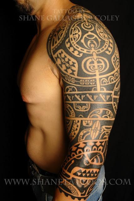 Tattoos For Men Sleeves Tribal