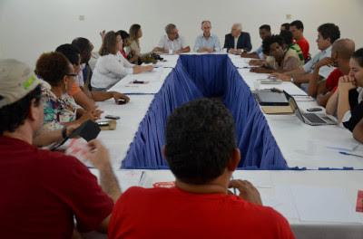 Reunião do Movimento PT com Rui Falcão em Salvador - FOTO Luciana Mandelli