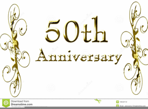 Free Clipart Golden Wedding Anniversary Free Images At Clkercom