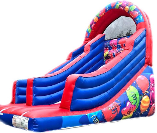 Party Balloons Inflatable Garden Slide for hire £75 in Tameside Stockport Oldham Glossop