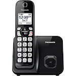 Panasonic KX-TGD510B Expandable Cordless Phone - Black