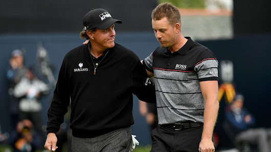 Henrik Stenson-Phil Mickelson final round at The Open makes the short list