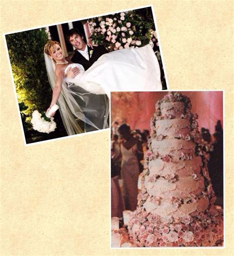 Trista Rehn and Ryan Sutter   Famous Wedding Cakes