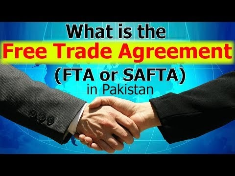 What Is The Free Trade Agreement Fta Or Safta In Pakistan