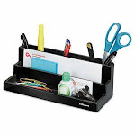 Fellowes Designer Suites Desktop Organizer, Black Pearl (FEL8038901)