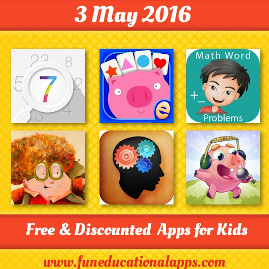 Daily Best Free and Discounted Apps for kids and Education - May 3