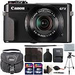 Canon PowerShot G7x Mark II 20.1MP Digital Camera with Accessories