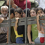 Humanitarian crisis: Lebanon estimates 800,000 people have been displaced by the fighting.