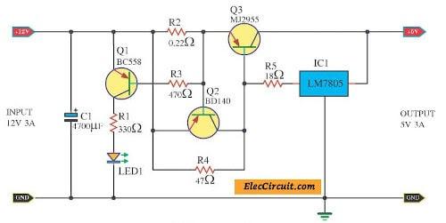 What Circuit 5 V Dc To 12 V Dc Convart - Circuit Diagram Images