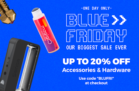 3D Printing Blue Friday SALE at Matterhackers